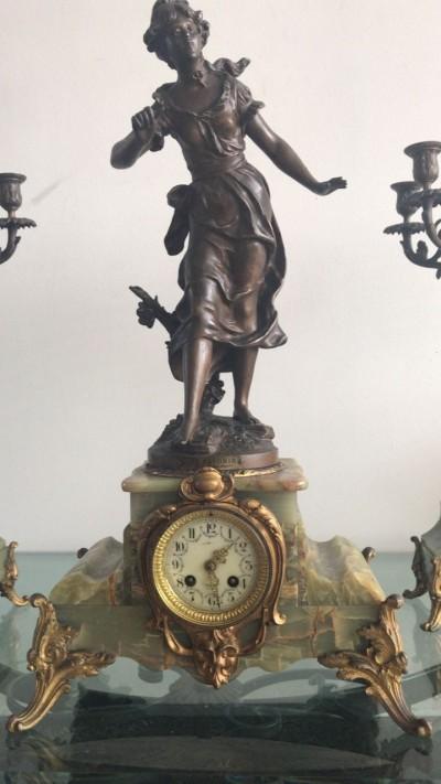 Reloj guarnición francesa